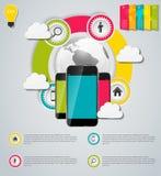 Cloud Computing Concept Vector Illustration Stock Image
