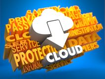 Cloud Computing Concept. Stock Images