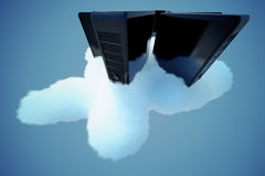 Cloud computing. Stock Photography