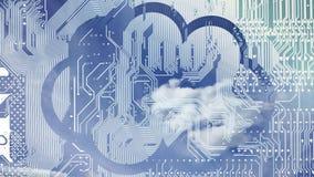 Cloud computing. stock video