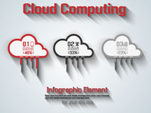 Cloud computing connection world technology. For web Stock Photography