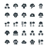 Cloud Computing Cool Vector Icons 3 Stock Image