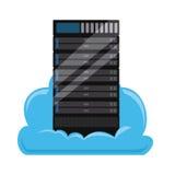 Cloud computing design. Cloud computing graphic design , vector illustration Stock Photos
