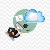 Cloud computing design Stock Photography
