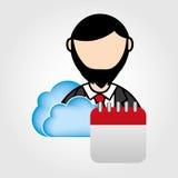 Cloud computing design Royalty Free Stock Photo