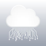 Cloud Computing Electronic Concept Royalty Free Stock Photos