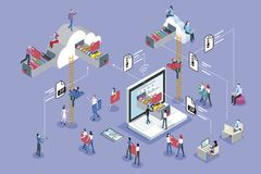 Cloud Computing Hosting Stock Images