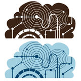 Cloud Computing Icon Royalty Free Stock Image