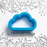 Cloud Computing illustration Royalty Free Stock Photo