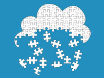 Cloud Computing Jigsaw Stock Photos