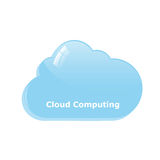 Cloud Computing Logo Royalty Free Stock Image