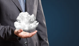 Cloud computing Royalty Free Stock Images