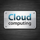 Cloud computing tablet Royalty Free Stock Photos