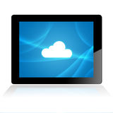 Cloud Computing On Mobile  Device Stock Photos