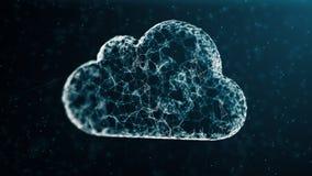 Cloud computing network concept Stock Photo