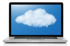 Cloud computing network concept. Stock Photo