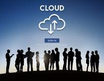 Cloud Computing Network Storage Technology Data Concept Stock Photo