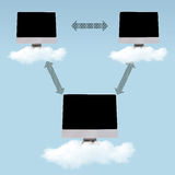 Cloud Computing - Networking Stock Photos