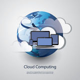 Cloud Computing and Networks Concept Stock Images