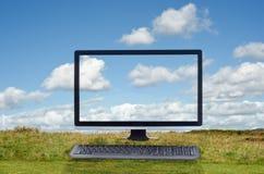 Cloud Computing Outdoor Scene Royalty Free Stock Image