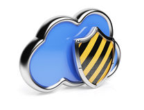 Cloud computing protection Royalty Free Stock Photo