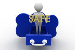 Cloud Computing Safety Royalty Free Stock Photography