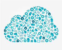 Cloud Computing Service Concept Stock Image