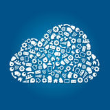 Cloud Computing Service Concept Royalty Free Stock Photo
