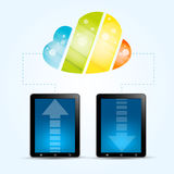 Cloud Computing Service Concept Stock Photos