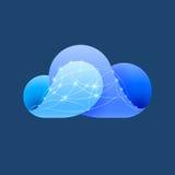 Cloud computing sign Stock Photos