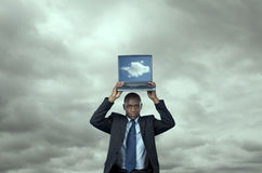 Cloud computing solution Royalty Free Stock Images