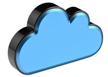 Cloud computing and storage security concept Royalty Free Stock Photos