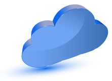 Cloud computing symbol Stock Photo