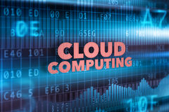 Cloud computing technology concept Stock Images