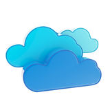 Cloud computing technology icon Stock Image
