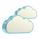 Cloud computing technology icon Stock Photos