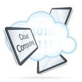 Cloud Computing Icon Royalty Free Stock Photos