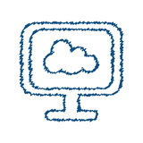 Cloud computing technology Stock Photography
