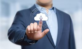 Cloud Computing Technology Internet Storage Network Concept Stock Photos