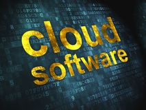 Cloud computing technology, networking concept: Royalty Free Stock Photos