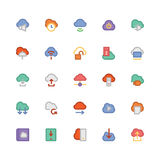 Cloud Computing Vector Icons 4 Royalty Free Stock Photo