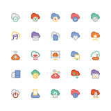 Cloud Computing Vector Icons 1 Royalty Free Stock Photography