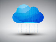 Cloud computing vector illustration Stock Photos