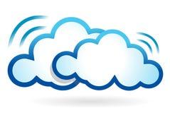 Cloud computing wifi concept Stock Photo