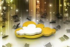 Cloud concept Royalty Free Stock Photos