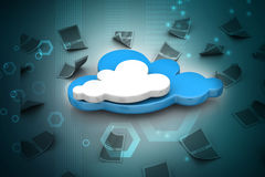 Cloud concept Royalty Free Stock Image