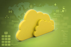 Cloud concept Royalty Free Stock Photos