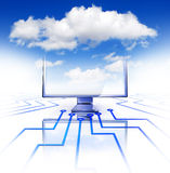 Cloud concept stock illustration