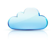 Cloud concept icon Stock Photo