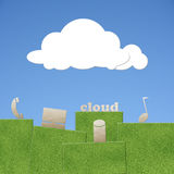Cloud concept Stock Image